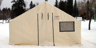 Insulated Canvas Tents