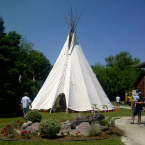 Fire Retardant Canvas Tipi