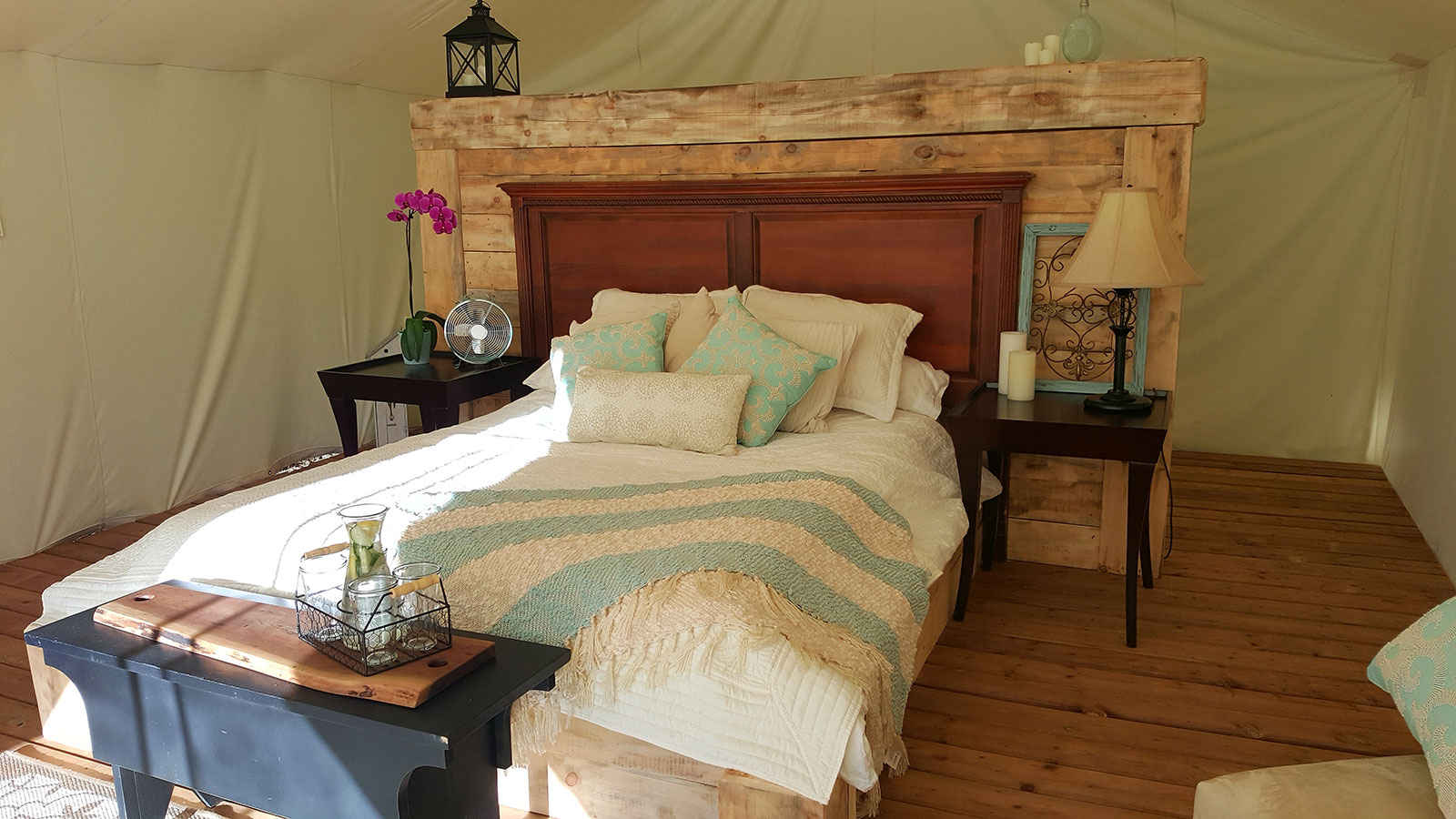 Whispering Springs Glamorous C&ing & New Wilderness Resort Features Tenting in Luxury Canvas Tents ...