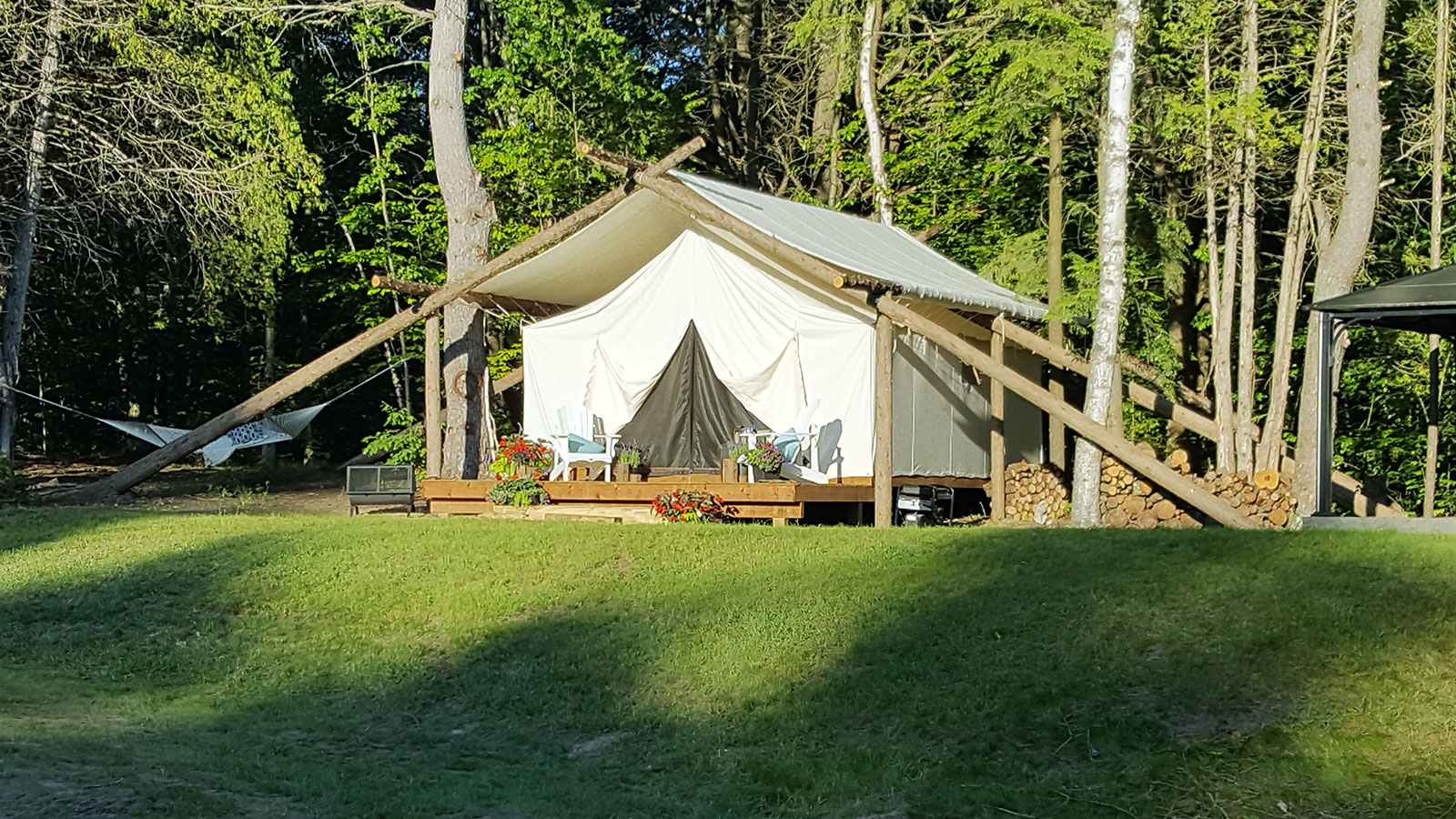 Whispering Springs Wilderness Retreat & New Wilderness Resort Features Tenting in Luxury Canvas Tents ...
